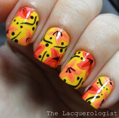 31DC14: 03 Yellow Nails by The Lacquerologist