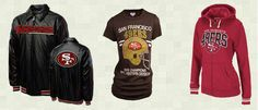 San Francisco 49ers Apparel - Shirts, Jackets, and goodies for men, women, children and babies