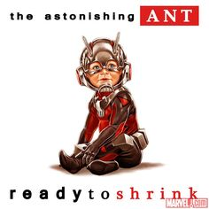 The Astonishing Ant-Man #1 Hip-Hop Variant Cover by Mark Brooks