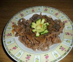 Ricetta tagliatelle al cacao con ragù di cervo pubblicata da BooBoo - Questa ricetta è nella categoria Primi piatti