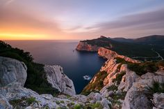 """Capo Caccia Sunset - with the New Haida NanoPro ND1000 & GND 0.9 soft FOLLOW ME <a href=""""https://www.facebook.com/Luka180Photos"""">FACEBOOK</a> 