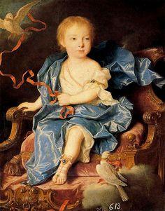 INFANTA MARÍA ANTONIA FERNANDA DE BORBÓN by the lost gallery, via Flickr