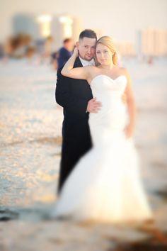 Blue + Yellow Whimsical Mustache Clearwater Beach Hyatt Wedding – Basia Mille Photography