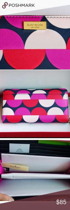 Kate Spade shore street Neda Wallet NWT Colorful Kate Spade wallet NWT (does not come with red box) kate spade Bags Wallets