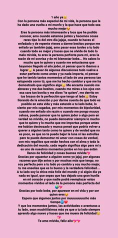 Amor Quotes, Relationship Challenge, Boyfriend Texts, Cute Texts, Love Phrases, Boyfriend Birthday, Feeling Sad, Love Messages, S Word