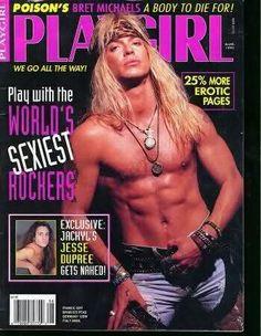 oh yea bret michaels more hottie patotties michaels playgirl bret ...
