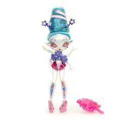 Novi Stars Frostina Sprinkles Doll-has some of these already Present Finder, My Little Pony Dolls, Novi Stars, Alien Creatures, Collector Dolls, Blythe Dolls, Ooak Dolls, Girl Cartoon, Doll Accessories