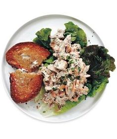 Raisin and Carrot Chicken Salad recipe from realsimple.com #myplate #protein #vegetables
