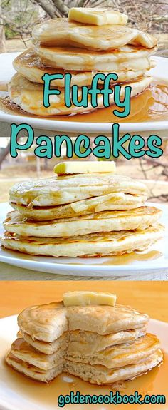This is the perfect pancake recipe if you like soft, fluffy and gooey pancakes from scratch. Plus it's healthy with hardly any added sugars or fats!