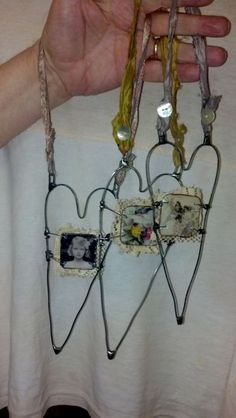 Happy Valentines Day!!!!  This artist is going to have on line classes for this beautiful necklace.