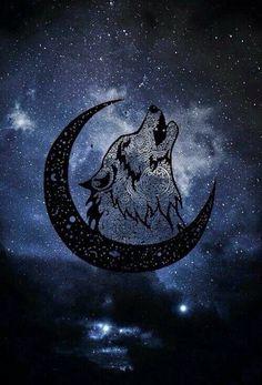 The Happy Hippie Galaxy Wolf, Galaxy Art, Wolf Wallpaper, Animal Wallpaper, Wolf Background, Wolf Artwork, Fantasy Wolf, Wolf Spirit Animal, Wolf Pictures
