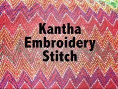Hand Embroidery: Phulkari stitch - YouTube Not in English but demonstration is easy to understand.