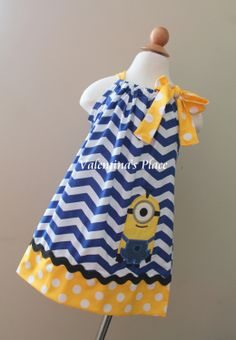 Super Cute Despicable me Minion one Eye by Valentinasplace on Etsy, $30.00
