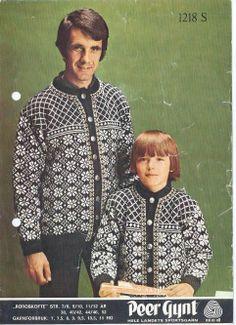 Røroskofta 1218 Norwegian Knitting, Scandinavian, Knitting Patterns, Cardigans, Sweaters, Men Casual, Fair Isles, Mens Tops, Clothes