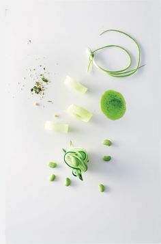 Interesting green food idea  (though I'd need to make it more substantial)