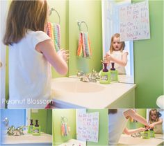 Healthy Bathroom Habits & Tips for Families *Great post on how to prevent sick germs from spreading to siblings