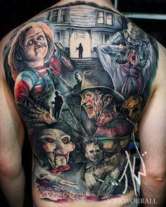 Horrorfilme auf den Rücken tun manchmal nicht entzücken