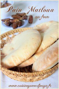 Pain matloua au four (Matlou3 el koucha)   Recettes de Cuisine algérienne, orientale et française