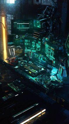 Hacker Room wallpaper by Zash4 - 08a8 - Free on ZEDGE™