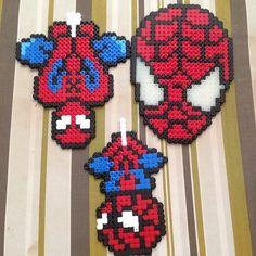 Spiderman perler beads by namaegargal