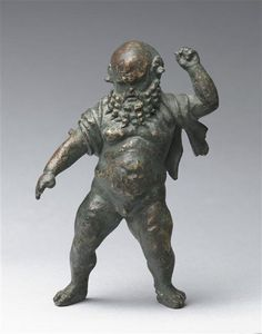 Silenus. Late first century BC - Beginning of the first century AD | Louvre Museum