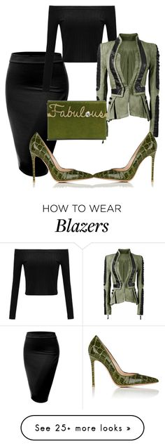 """Untitled #3411"" by styledbycharlieb on Polyvore featuring J.TOMSON, Gianvito Rossi and Charlotte Olympia"