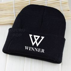 WINNER Beanie A must-have for all Inner Circles, this beanie is perfect for keeping comfy and warm in style. It features 'WINNER' and their large 'W' logo printed in white.  - One size only. - Beanies should fit everyone age 8 and up (including adults), but are not recommended for larger heads. - High-quality print.