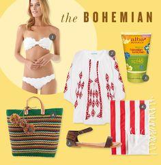 Bohemian Swimwear | Jen Pinkston for Camille Styles
