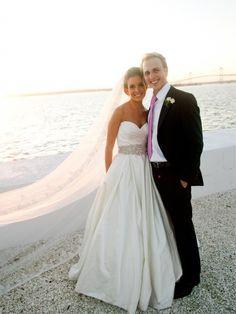 Lazaro 3018 Size 4 Wedding Dress – OnceWed.com