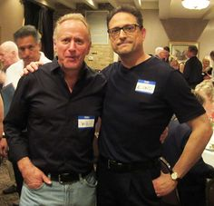 Al Conti with Grammy winning producer and artist Will Ackerman at the ZMR Music Awards Show, 2015