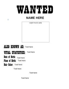 Free Questionnaire Template Word Glamorous Free Wanted Poster Template Printable 6 Wanted Poster Template Free .