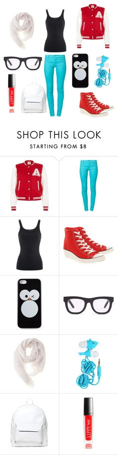 """Школьный"" by orlova1999 ❤ liked on Polyvore featuring beauty, Parisian, Cheap Monday, Ralph Lauren, Converse, Forever 21, Madewell, Faliero Sarti, Asya Malbershtein and Henri Bendel"