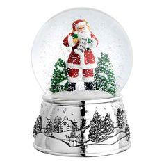 Reed & Barton's Classic Santa Snowglobe