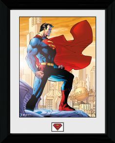 Superman - Daily Planet - Big Framed Collector Print