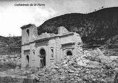 Saint-Pierre après l'éruption de 1902