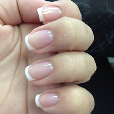 My nails - French manicure <3