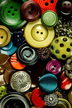 Buttons Photographic Fine Art Print, 8 x 10, other sizes available.