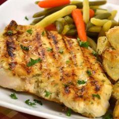 Grilled Tarragon Mustard Chicken - Allrecipes.com