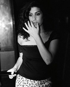 Amy Winehouse photographed by Mark Richards