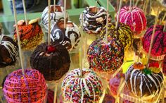 Candied apples are perfect for a fall baby shower!