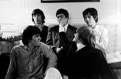KEITH RICHARDS, BILL WYMAN, CHARLIE WATTS, BRIAN JONES et MICK JAGGER onlysleeping66: The Stones