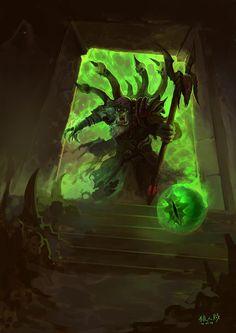 Gul´dan, the Powerful Mage of Horde