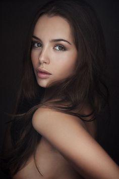 flawless! #beauty #makeup #eyemakeup #hair #bronzer #tan