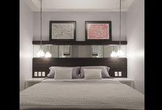 quartos de casal com cabeceira de espelho - Pesquisa Google