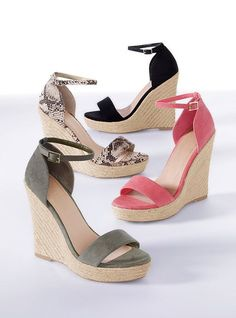 cheap and cute! so ready for spring to stock up on wedges :)