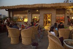 Central Outdoor Restaurant Patio, Cafe Pictures, Cool Cafe, Instagram Worthy, Cafe Design, New Age, Jaipur, Coffee Shop, I Am Awesome