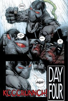 I have my issues with Tom King, but the way he wrote Bane is nothing short of magnificent. From – Batman Vol. Bane Batman, Batman And Batgirl, Game Character Design, Comic Character, Univers Dc, Pop Culture Art, Batman The Dark Knight, Animation Reference, Comic Panels