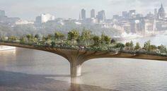 Por que uma ponte para pedestres em Londres está criando tanta polêmica - Notícias - Instituto de Engenharia