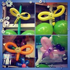 Animalitos con globos