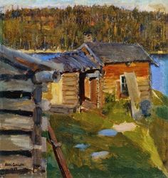 Akseli Gallen-Kallela (26 aprilie 1865 - 7 martie 1931) - The Ekola